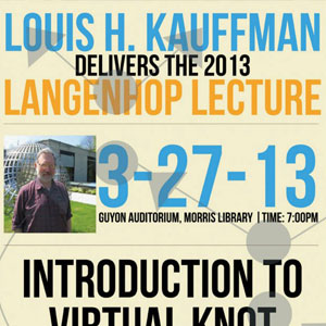 image of 2013 langenhop lecture