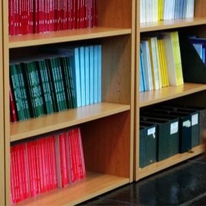 image of reasearch books